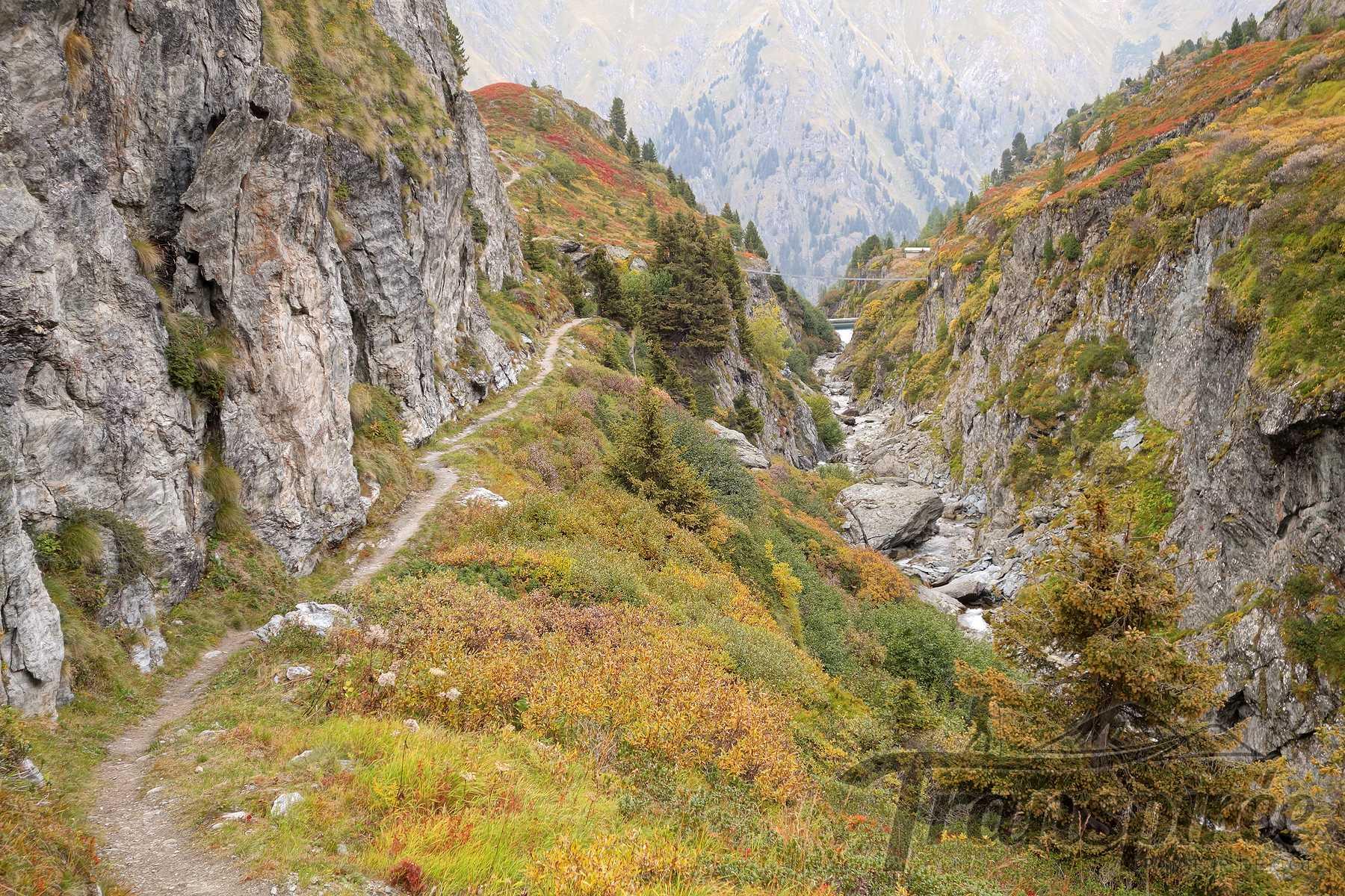 Randonnée du Tour de Becca Sery depuis la cabane Marcel Brunet et le Col des Avouillons