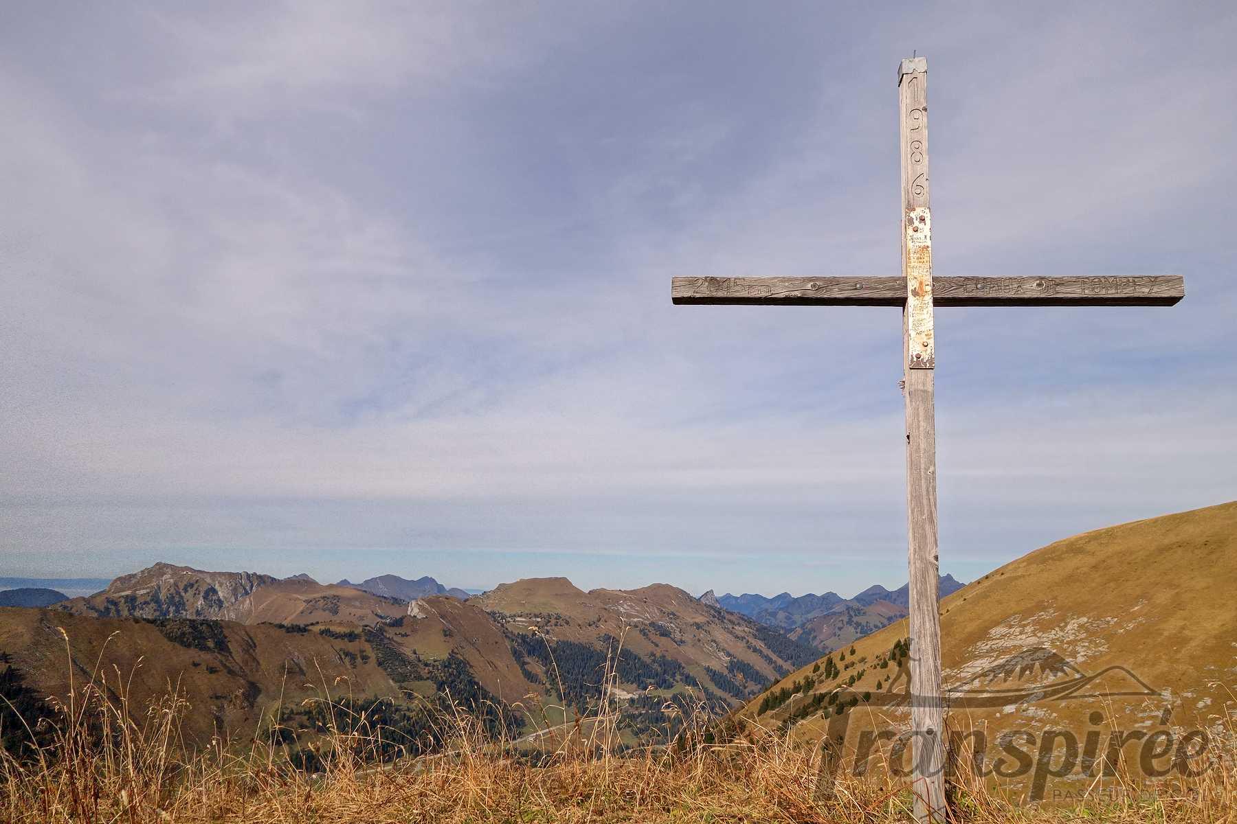 Randonnée à la Chaux de Tompey depuis Luan. Retour par la Crête du Cherix et le Col de Prafandaz