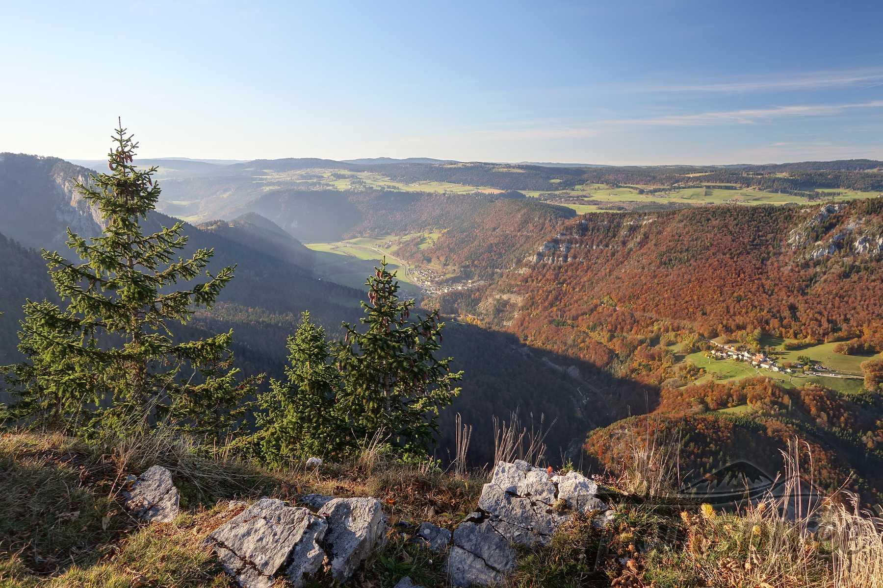 Randonnée à la Montagne de Boudry et Signal du Lessy