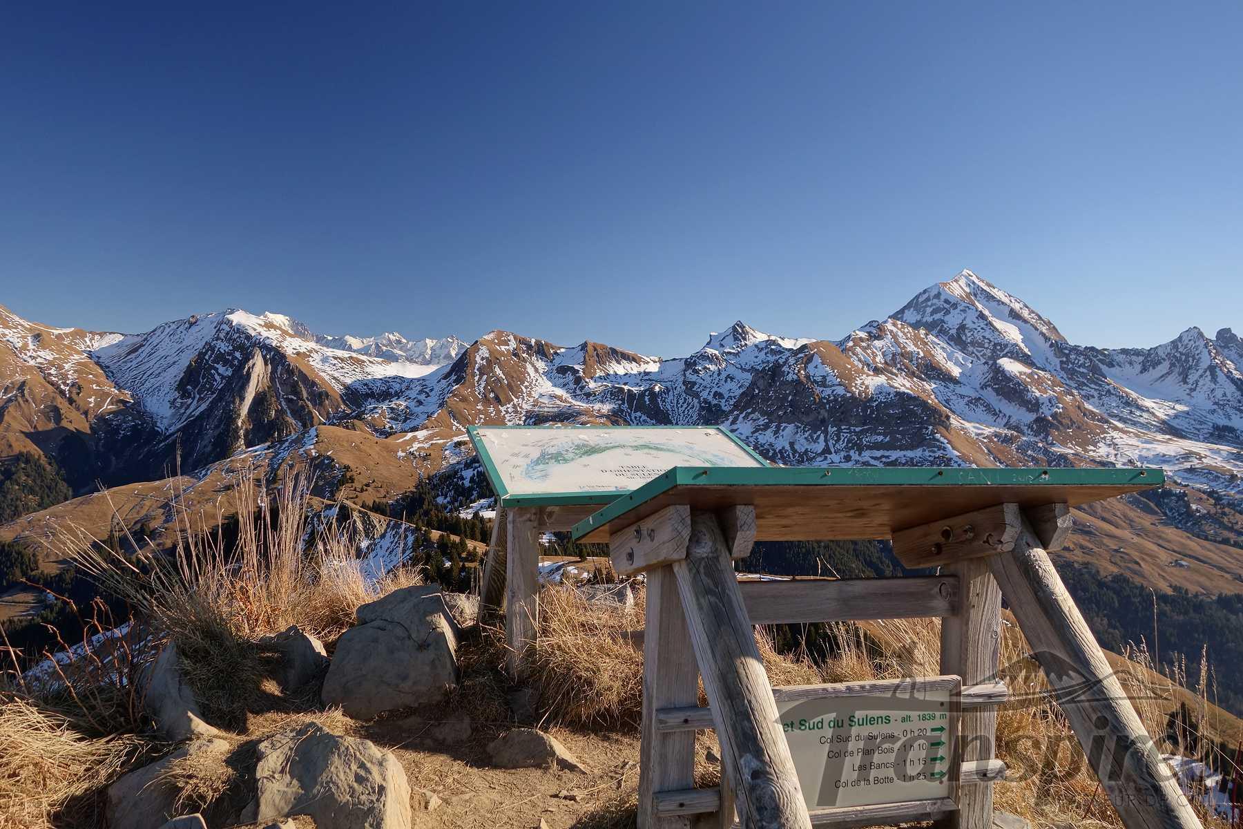 Randonnée à la Montagne de Sulens depuis le Col de Plan Bois