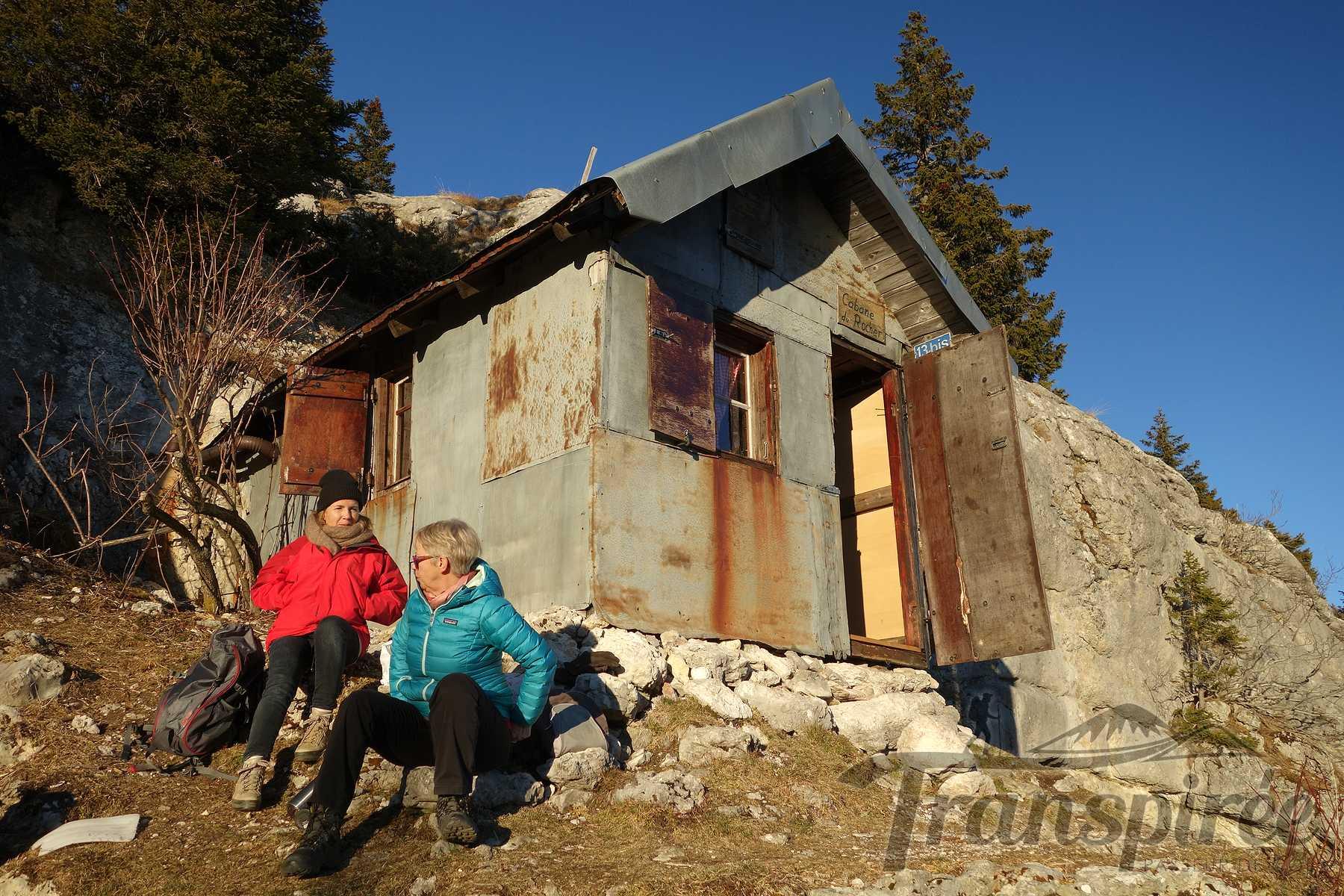 Randonnée au Mont Tendre puis cabane du Rocher