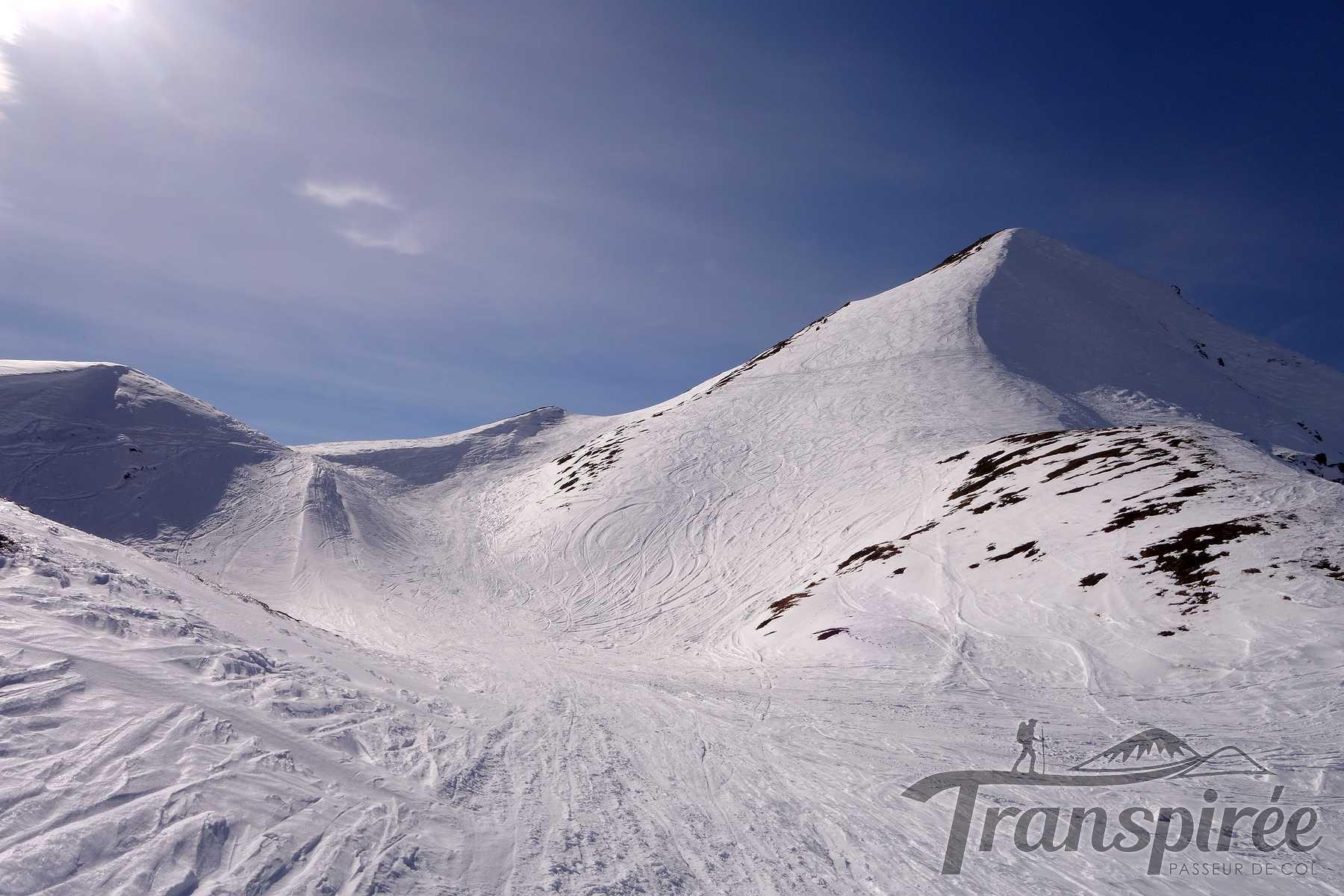 Ski de randonnée à Arolette depuis Cretton d'en Bas et le Pas des Moutons