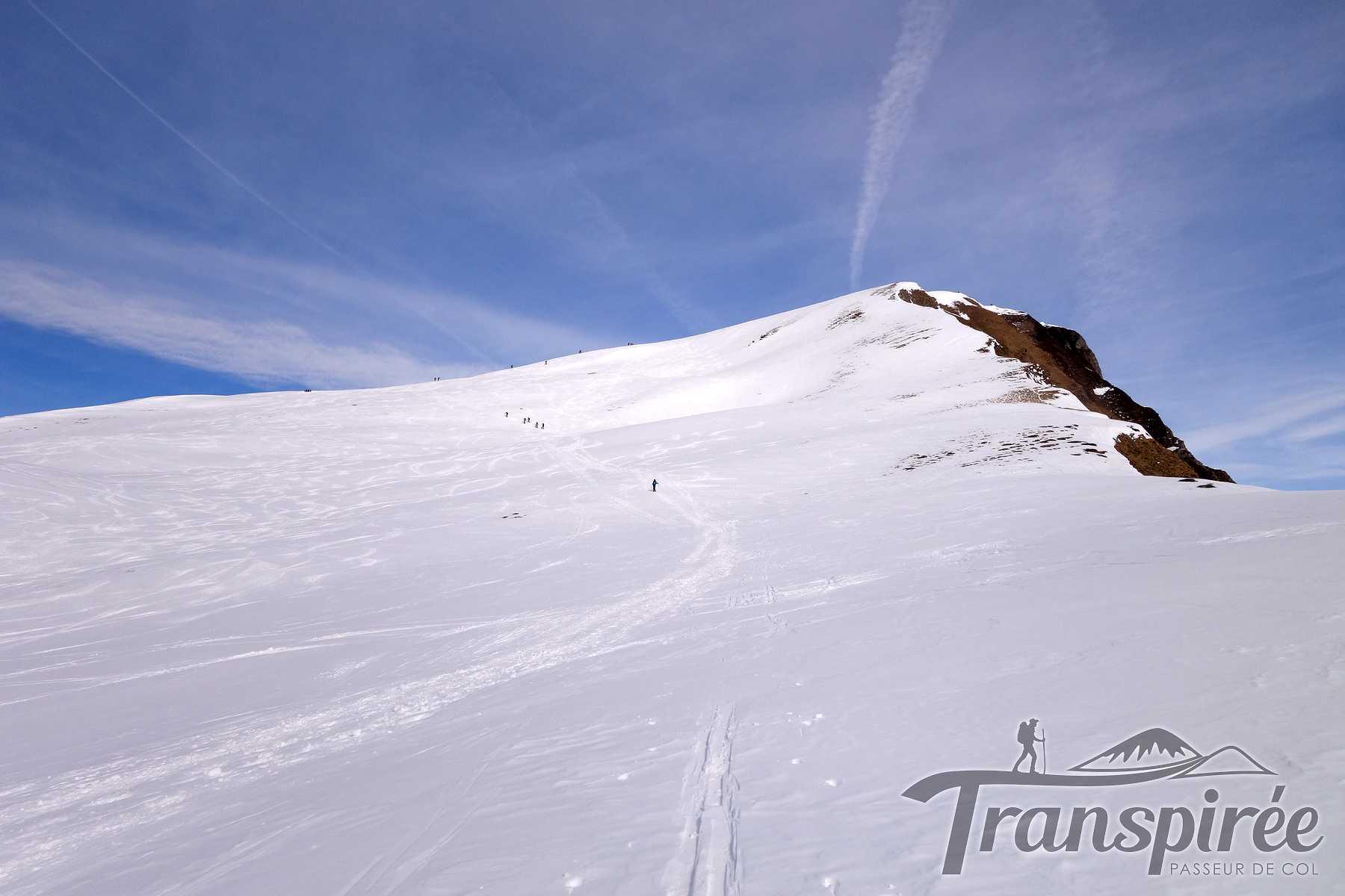 Ski de randonnée à la Pointe de Mandallaz par La Joux et l'Aulp de Fier