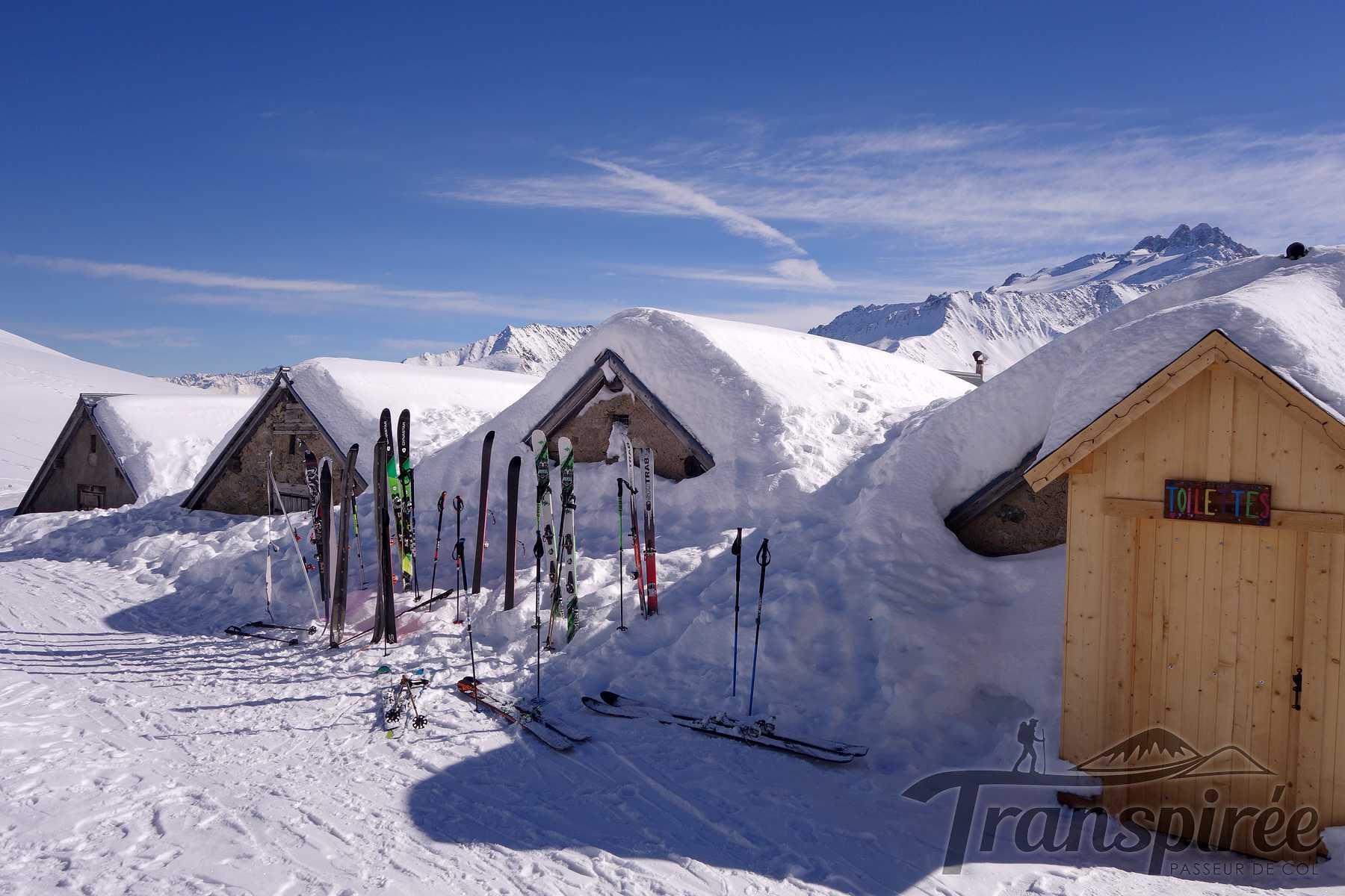 Ski de randonnée à la Pointe de la Terrasse depuis Vallorcine et Chalets de Loriaz