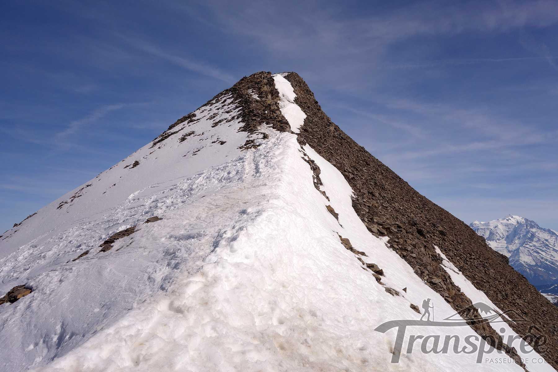 Ski de randonnée à la Tête Pelouse par la combe Bella Cha et Grand Crêt