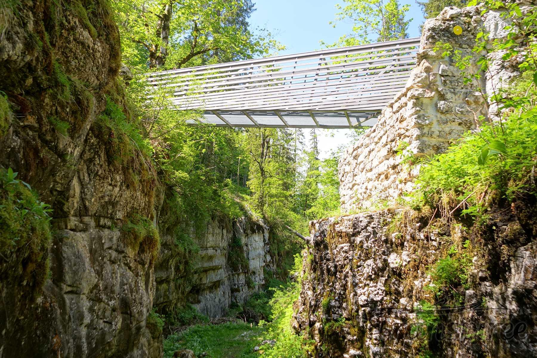 Randonnée au Mont Sujet et Pont des anabaptistesdepuis les Prés d'Orvin