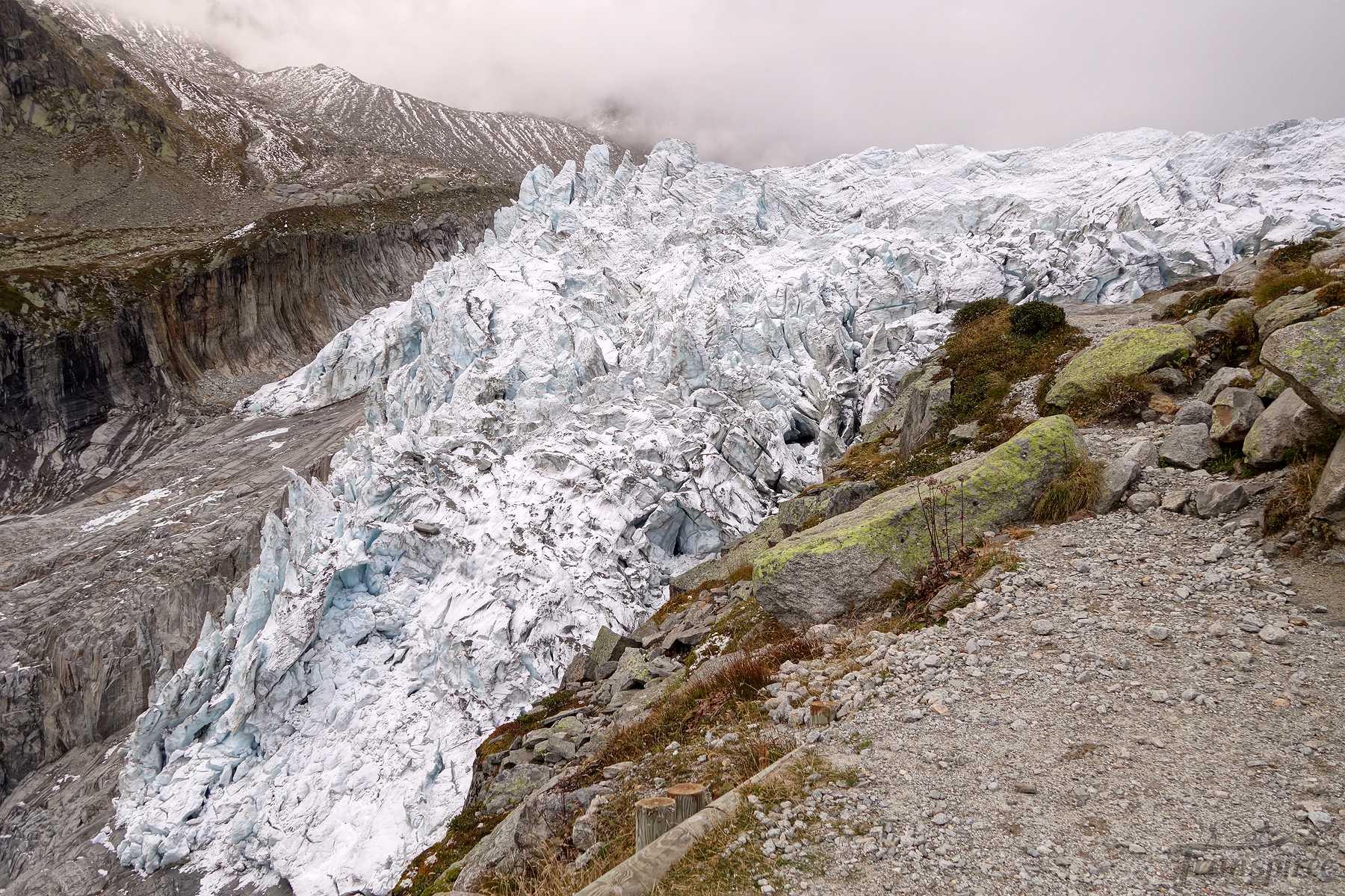 Randonnée au Refuge de Lognan depuis Argentière puis son glacier