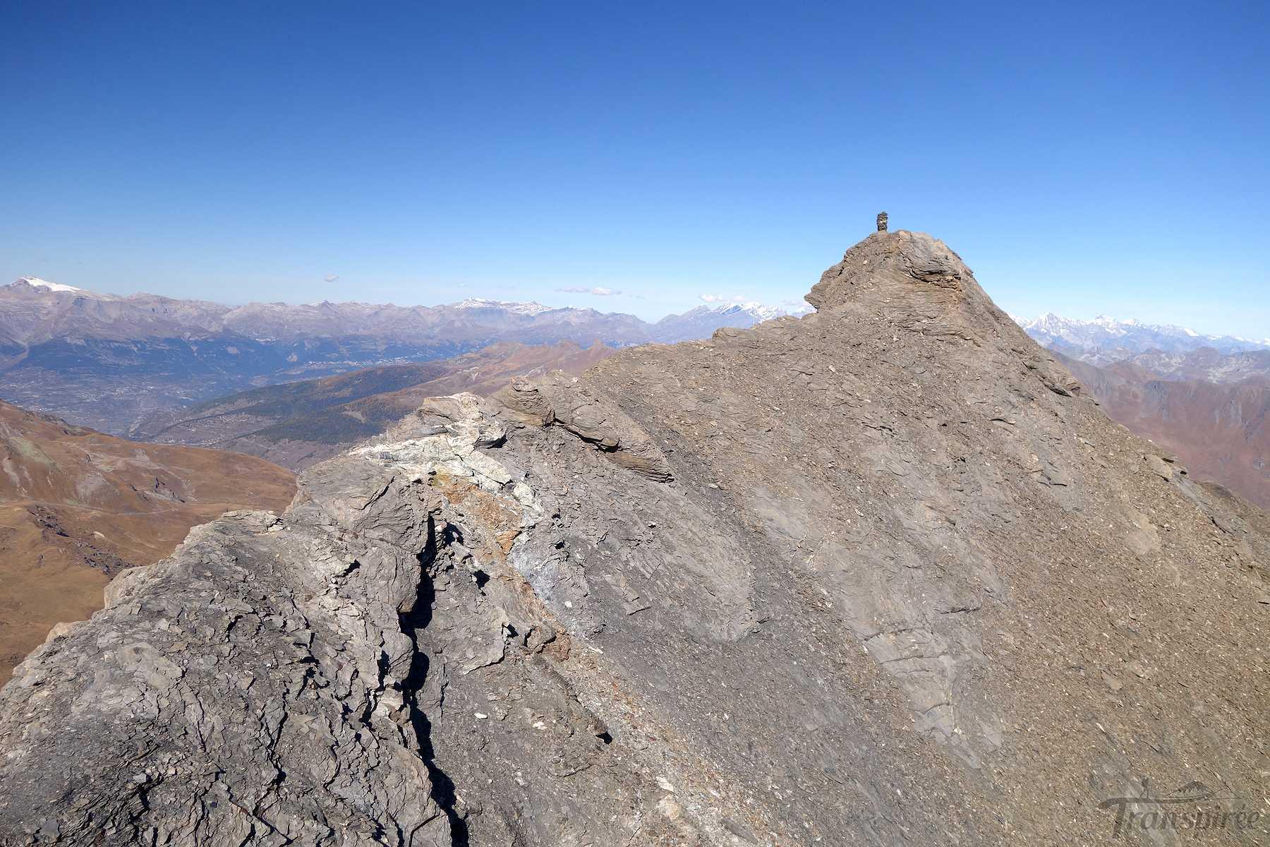 Randonnée au Mont de l'Etoile depuis La Gouille puis cabane des Aiguilles Rouges d'Arolla