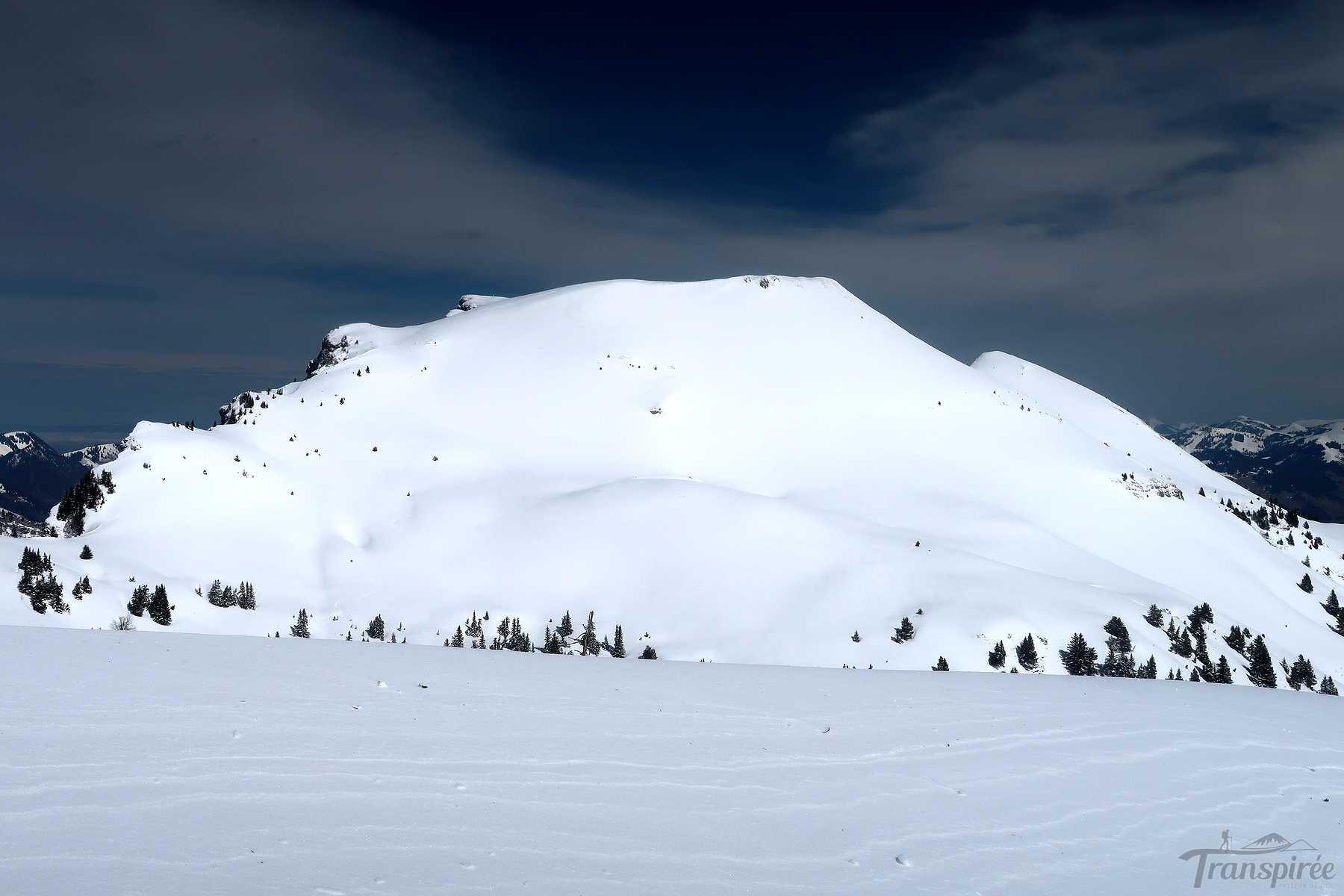 Ski de randonnée à la Pointe d'Aveneyre puis Pointe de l'Aiguille depuis Le Jorat (Hongrin)