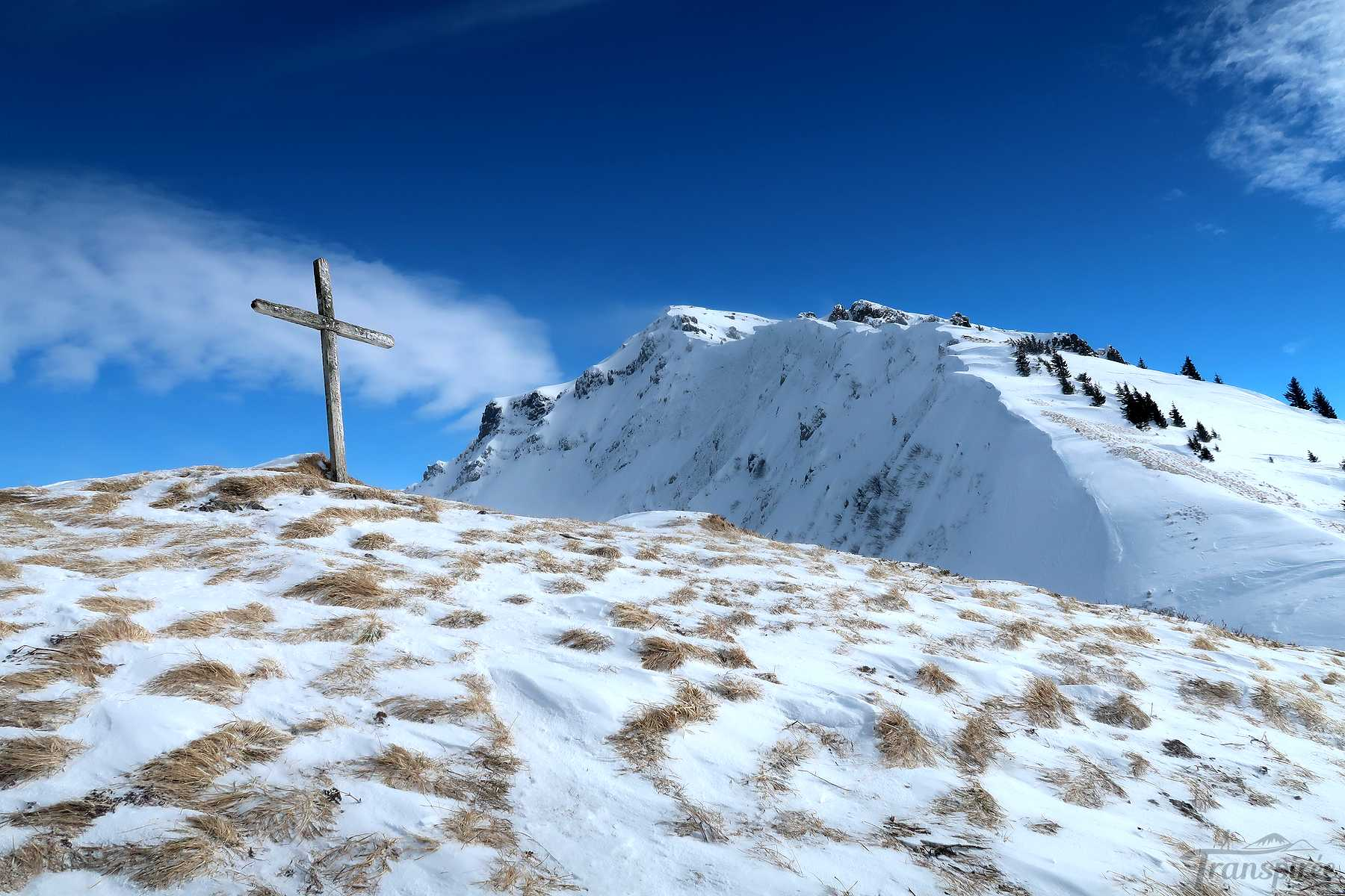 Ski de randonnée à la Pointe des Lanchettes depuis Prétairié (Abondance)
