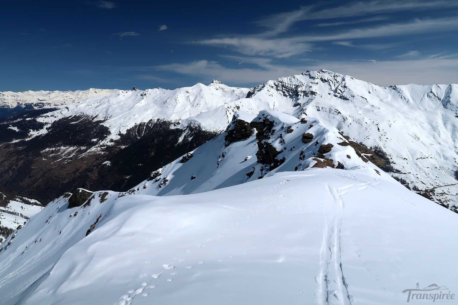 Ski de randonnée à Mel de la Niva depuis La Giette