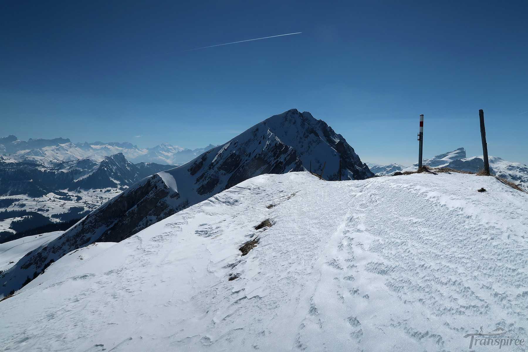 Ski de randonnée à l'Arete de Dorchaux depuis La Lécherette et Anteines