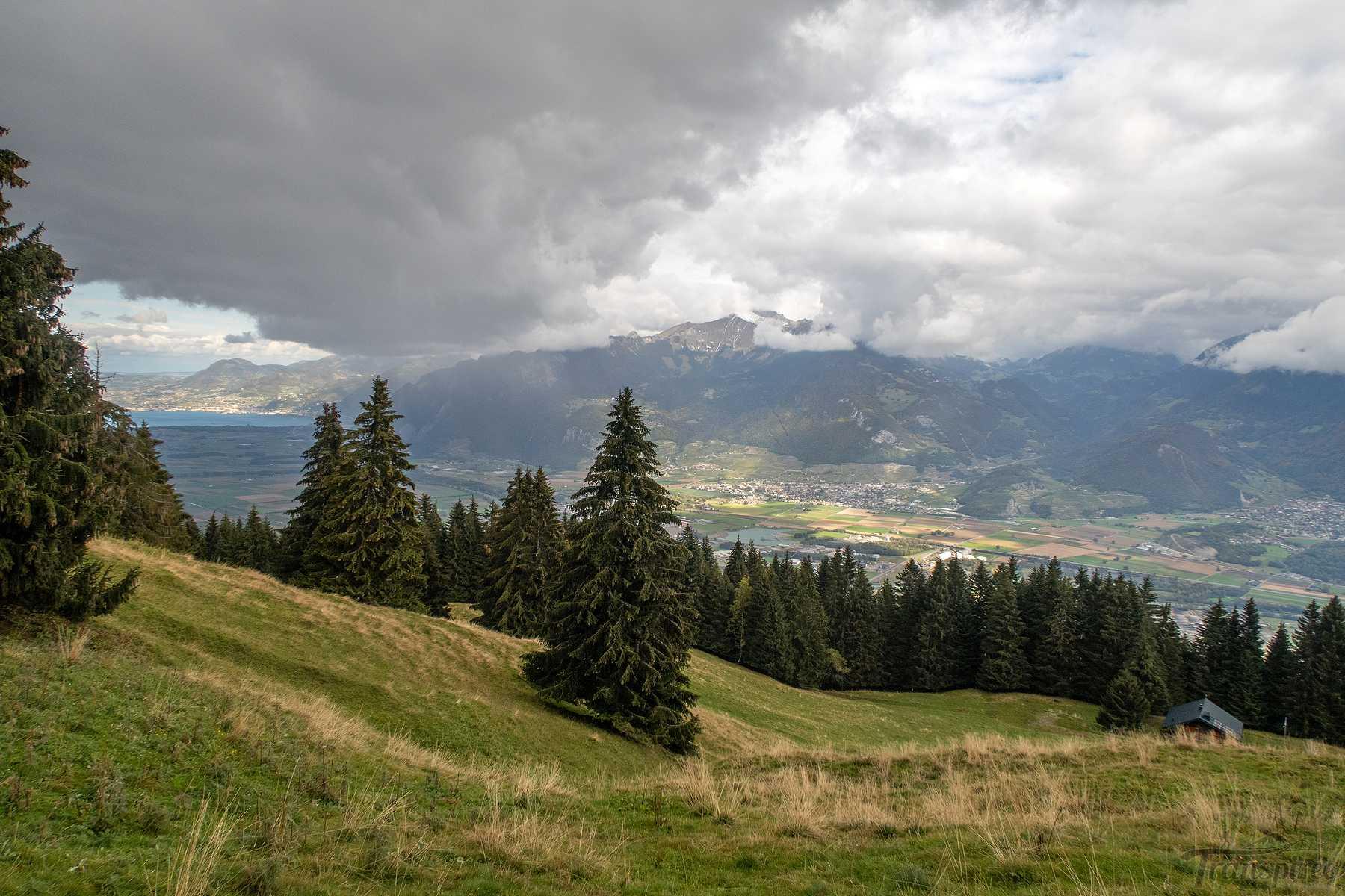 Randonnée de Muraz-Collombey à Chemeneau