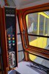 L'intérieur du téléphérique.
