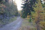 La fatigue étant là (et moi las), je vais rentrer par la route plutôt que la crête, c'est plus doux