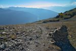 Grand Bandon, 2847m. On descend pour Bella Luette