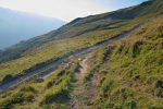 Puis on reprend le chemin de la montée, Tsalet d'Eison en vue