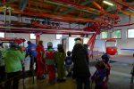 Jour d'affluence au télécabine d'Isenau, vacances obliges