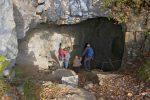 On arrive à la grotte d'Orjobet
