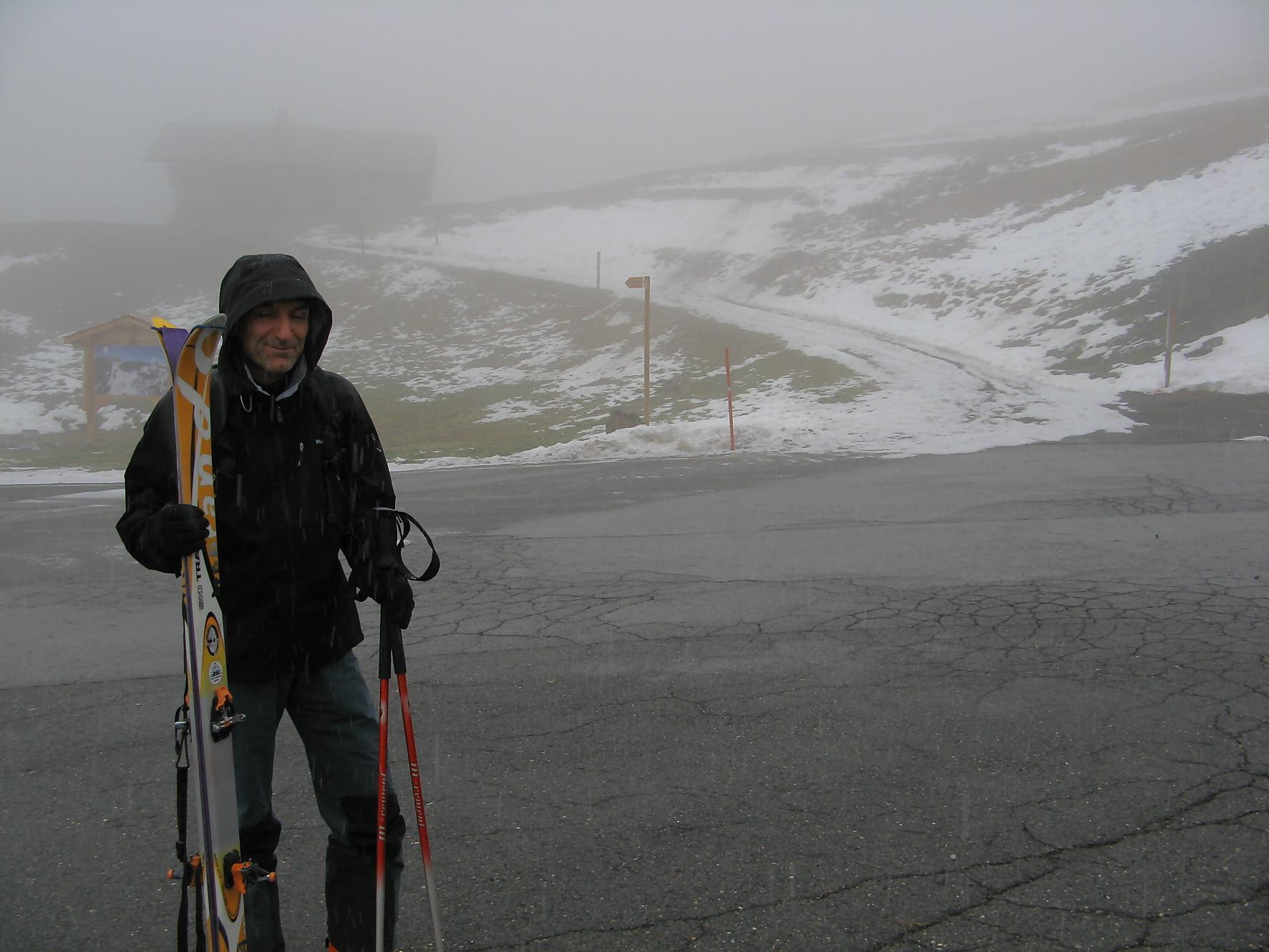 Ski de randonn e la dent de valerette depuis les - Combien de temps porter bas de contention ...