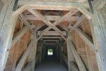 L'intérieur de ce pont