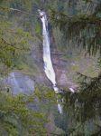 En zoomant, la cascade du Rouget