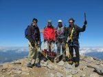 Et nous voilà au deuxième sommet, Mittelgipfel (3243.5m)