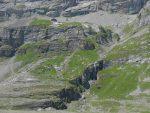 Vue arrière sur la Lämmerenhütte
