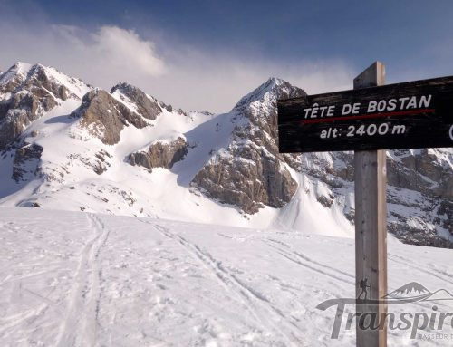 Ski de randonnée à la Tête de Bostan depuis l'Erigné et le Col de la Golesse