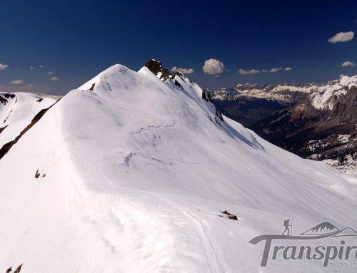 Ski de randonnée à Pointe Noire de Pormenaz depuis Plaine Joux et le refuge Moëde Anterne