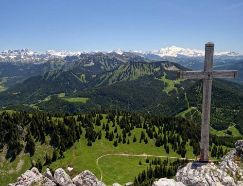 Randonnée au Mont Ouzon depuis le Col du Corbier et le Pas de l'Ours