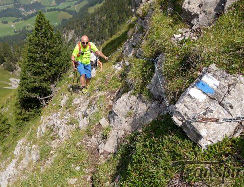 Randonnée au Rocher du Midi depuis l'Etivaz. Retour par le Col de Base