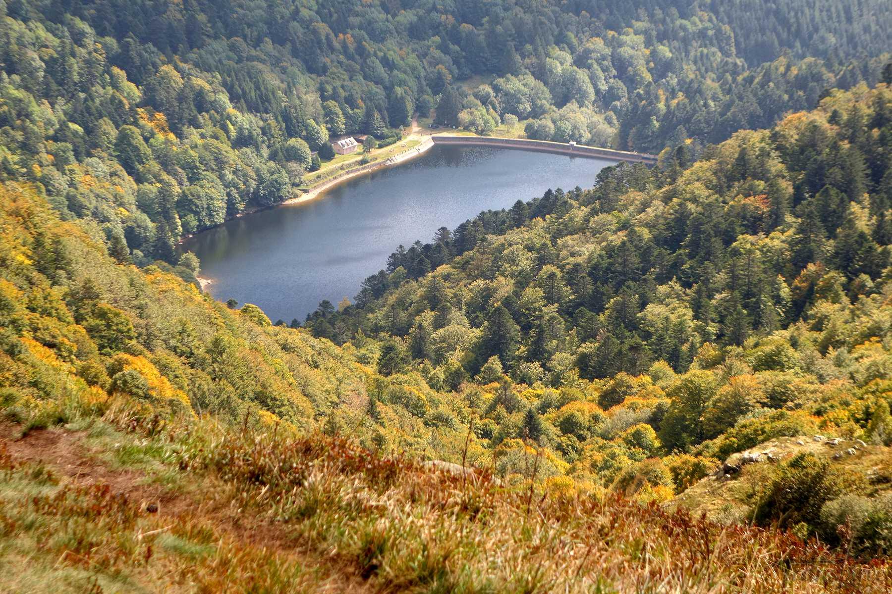 Randonnée au lac de Schiessrothried depuis le Gaschney et le Hohneck