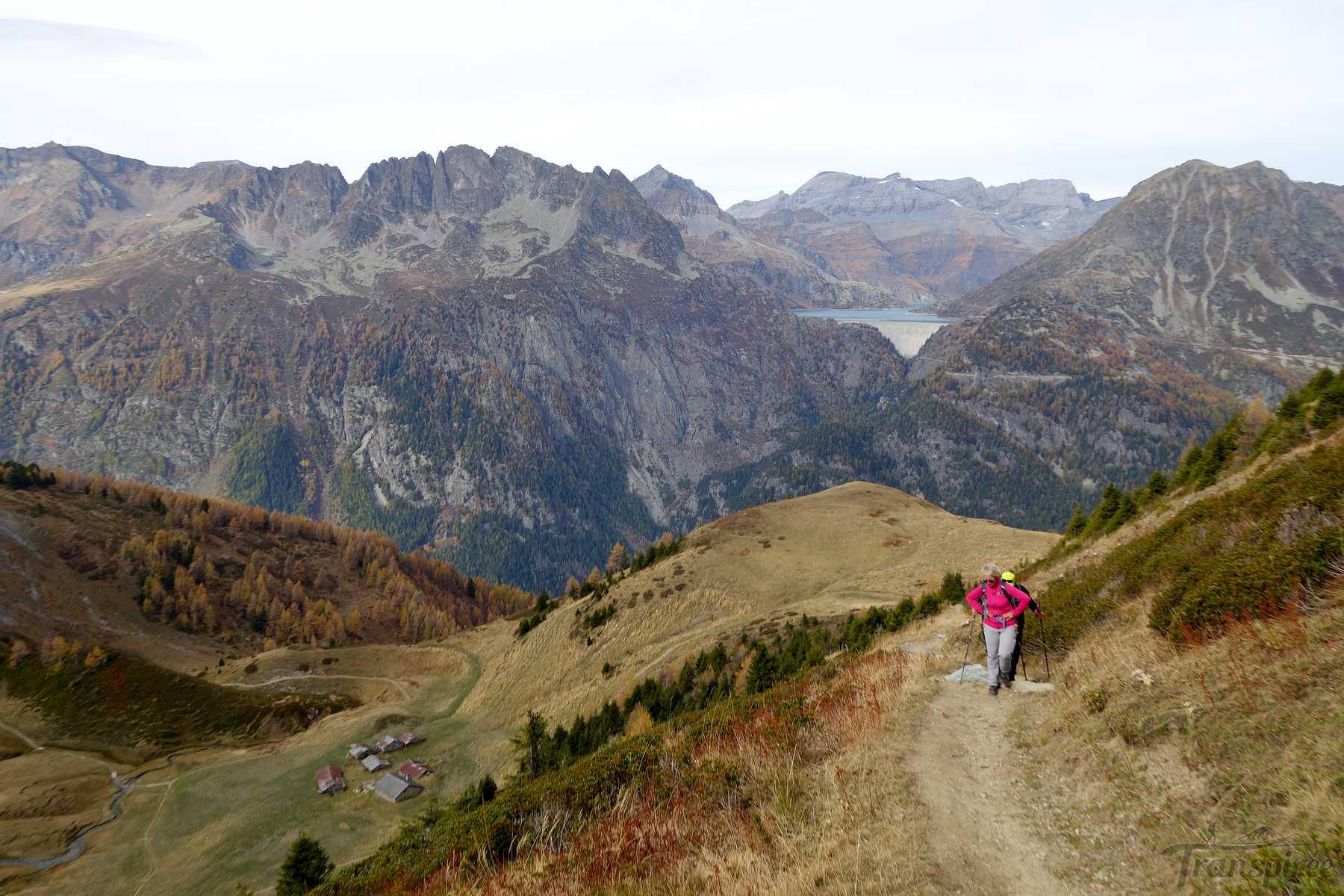 Randonnée au Col de Balme depuis Trient et le Pas des Moutons