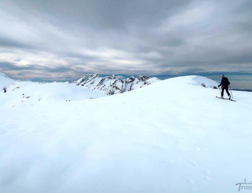 Ski de randonnée à la Tête des Muets depuis Romme