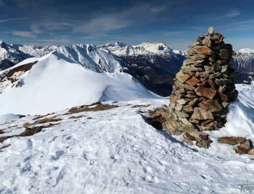 Ski de randonnée au Six Blanc puis Mont Brûlé depuis Commeire