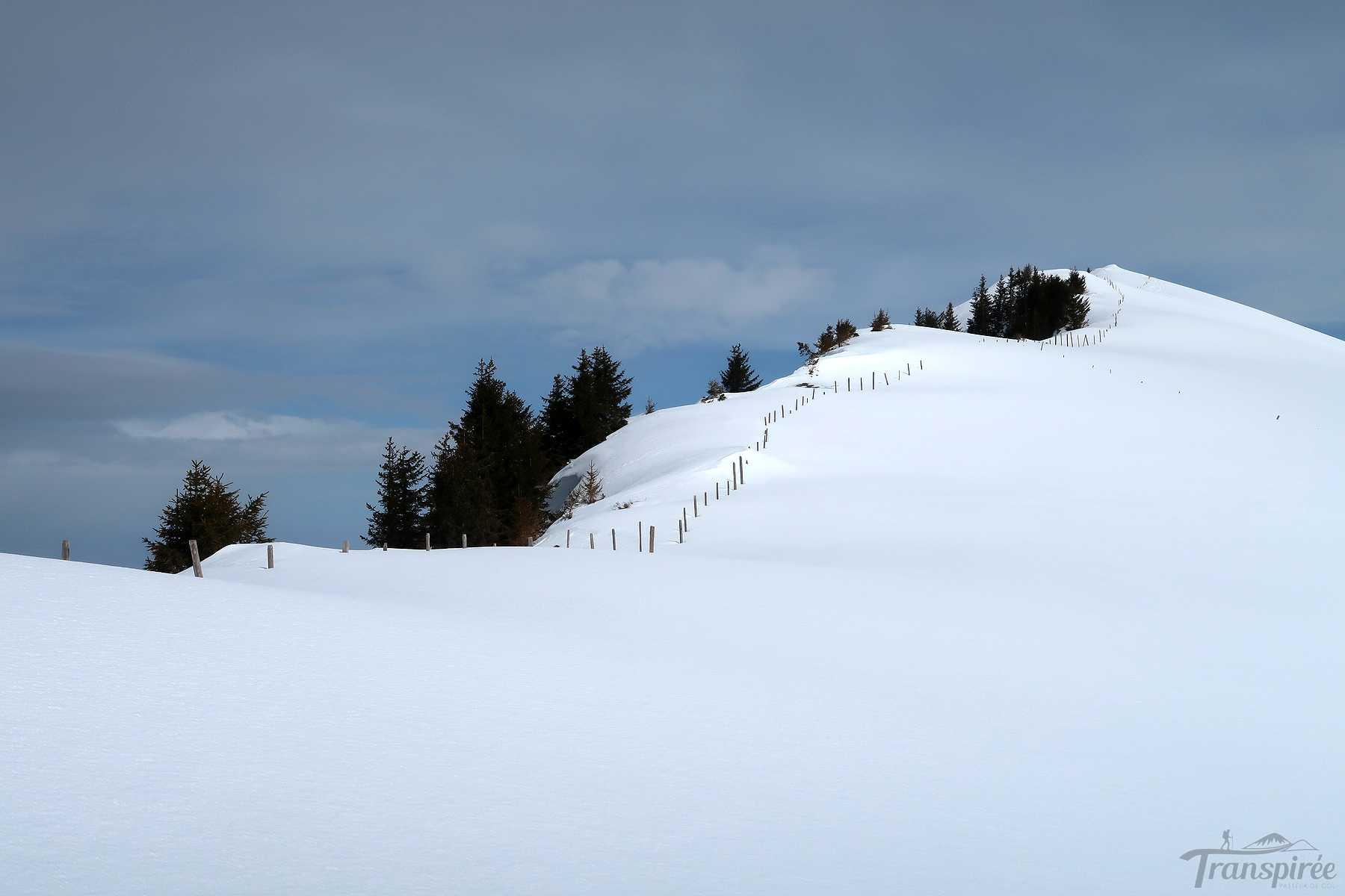 Ski de randonnée à Planachaux depuis La Lécherette et Monts Chevreuils