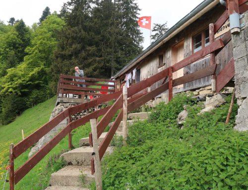 Randonnée au Gorges de l'Evi depuis Albeuve et buvette La Challa