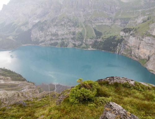 Randonnée au lac d'Oeschinensee depuis Kandersteg