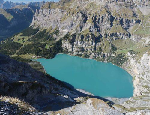 Randonnée à la cabane Fründenhütte depuis Kandersteg et le lac Oschinensee