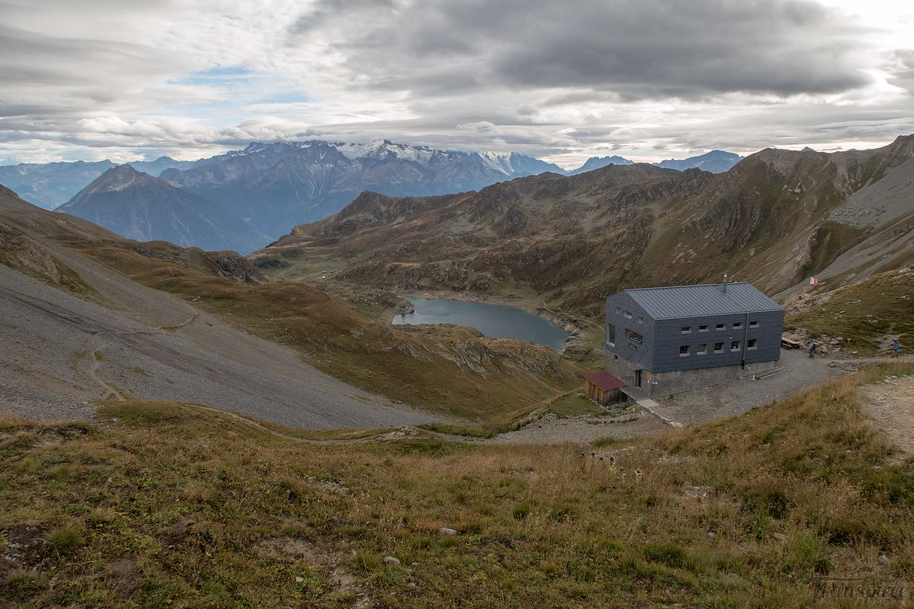 Randonnée autour du Grand Chavalard depuis Chiboz, Lui d'Août et la cabane Fenestral