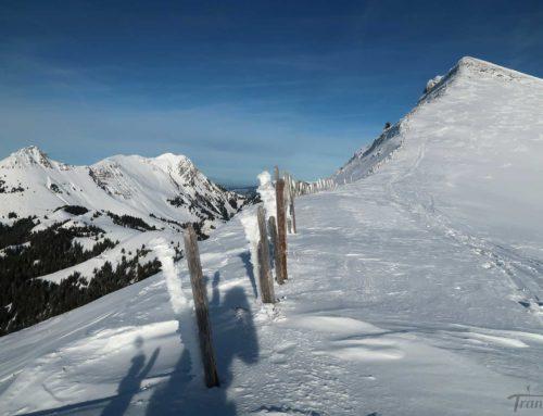 Ski de randonnée au Lys Derrey depuis les Sciernes d'Albeuve