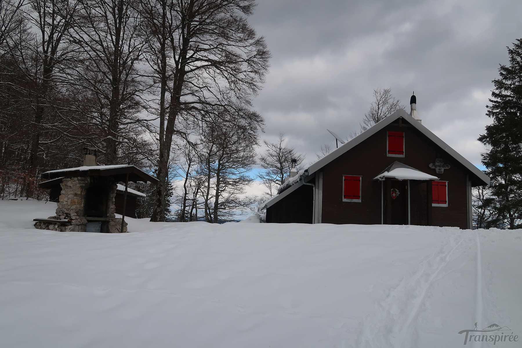Randonnée à la cabane du Mont d'Or depuis Vallorbe