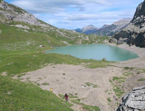 Randonnée à la Wildhornhütte depuis Iffigenalp et l'Iffigsee