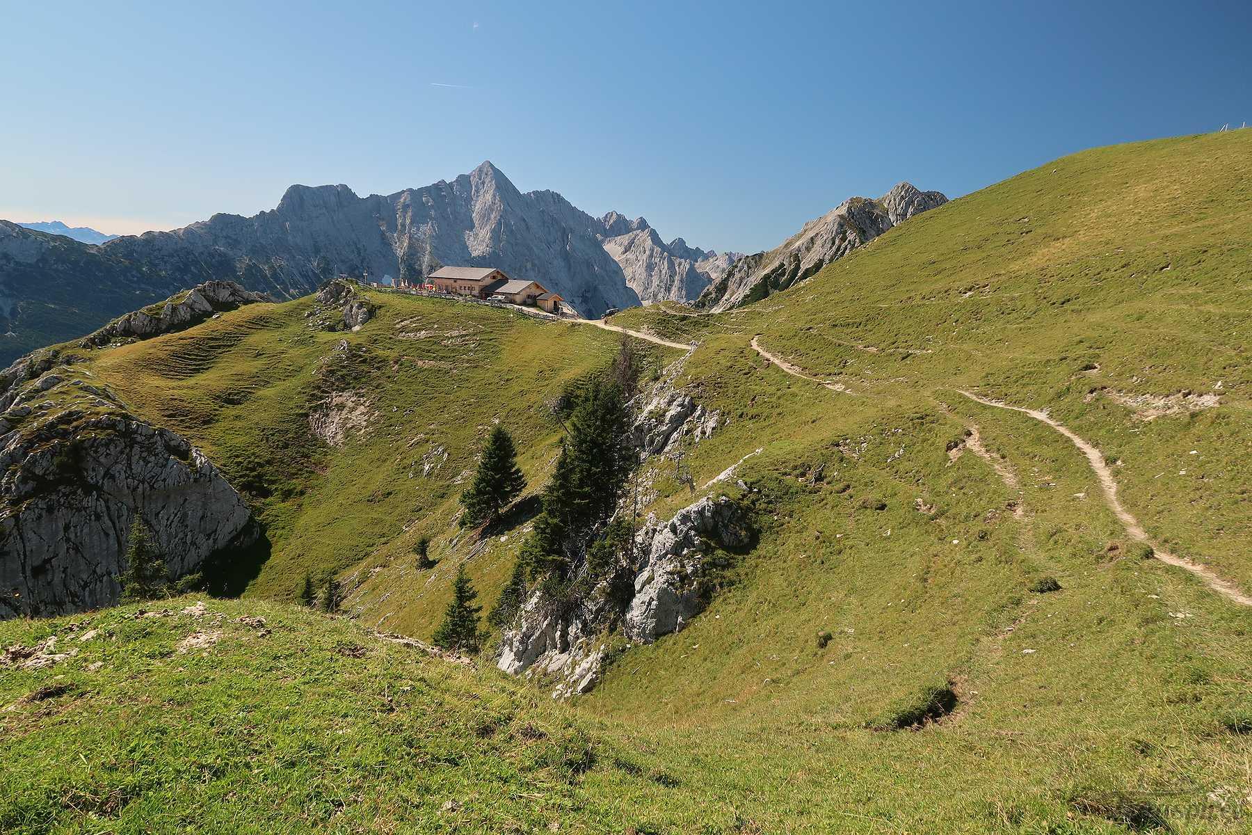 Randonnée à la buvette Rotmoosalm depuis Salzbach