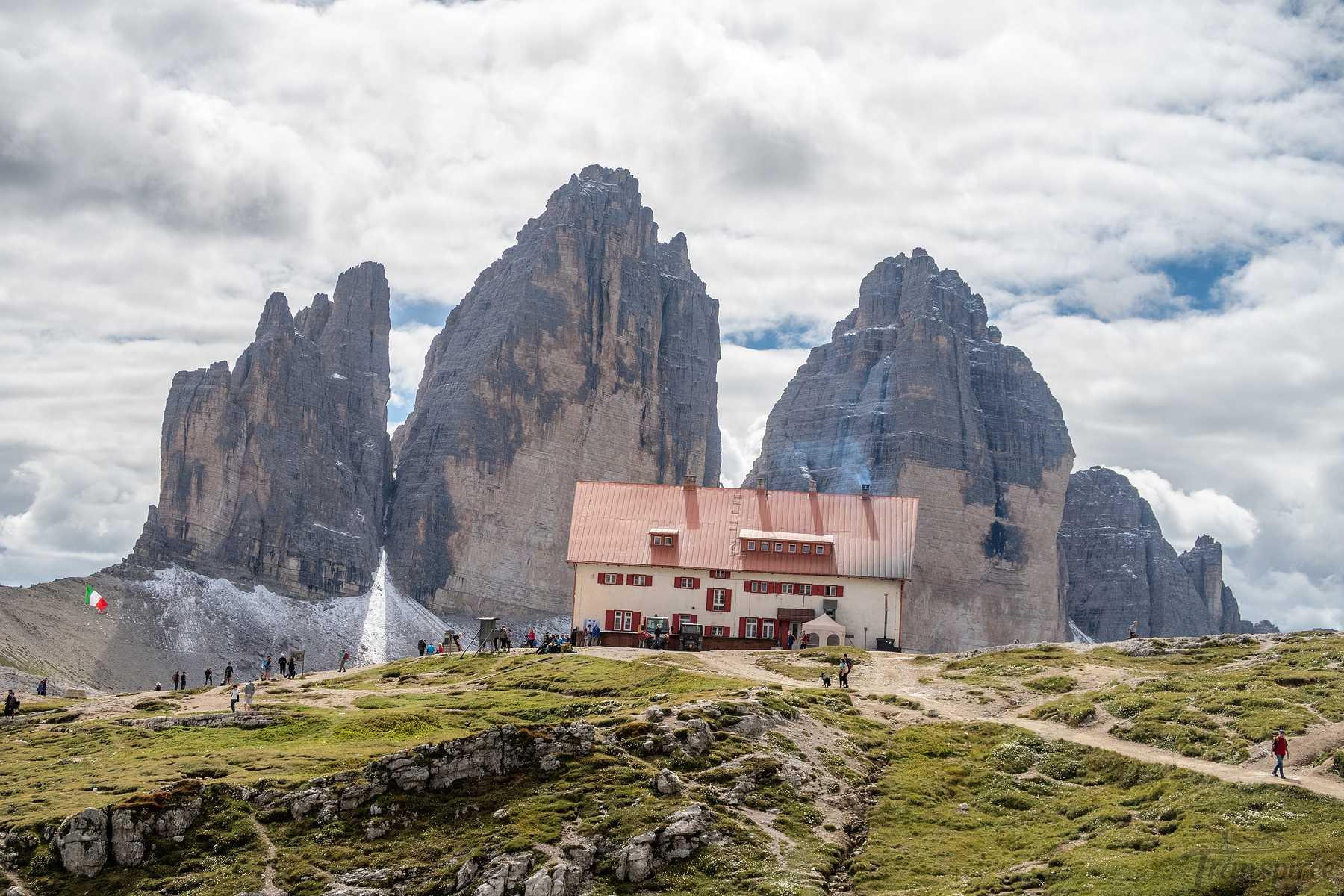 Randonnée au refuge Locatelli depuis Sexten