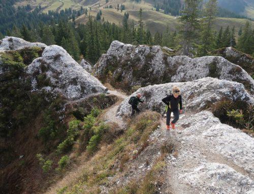 Randonnée au Col de Bretaye depuis le col de la Croix et ses pyramides de Gypse. Retour par Chaux Ronde