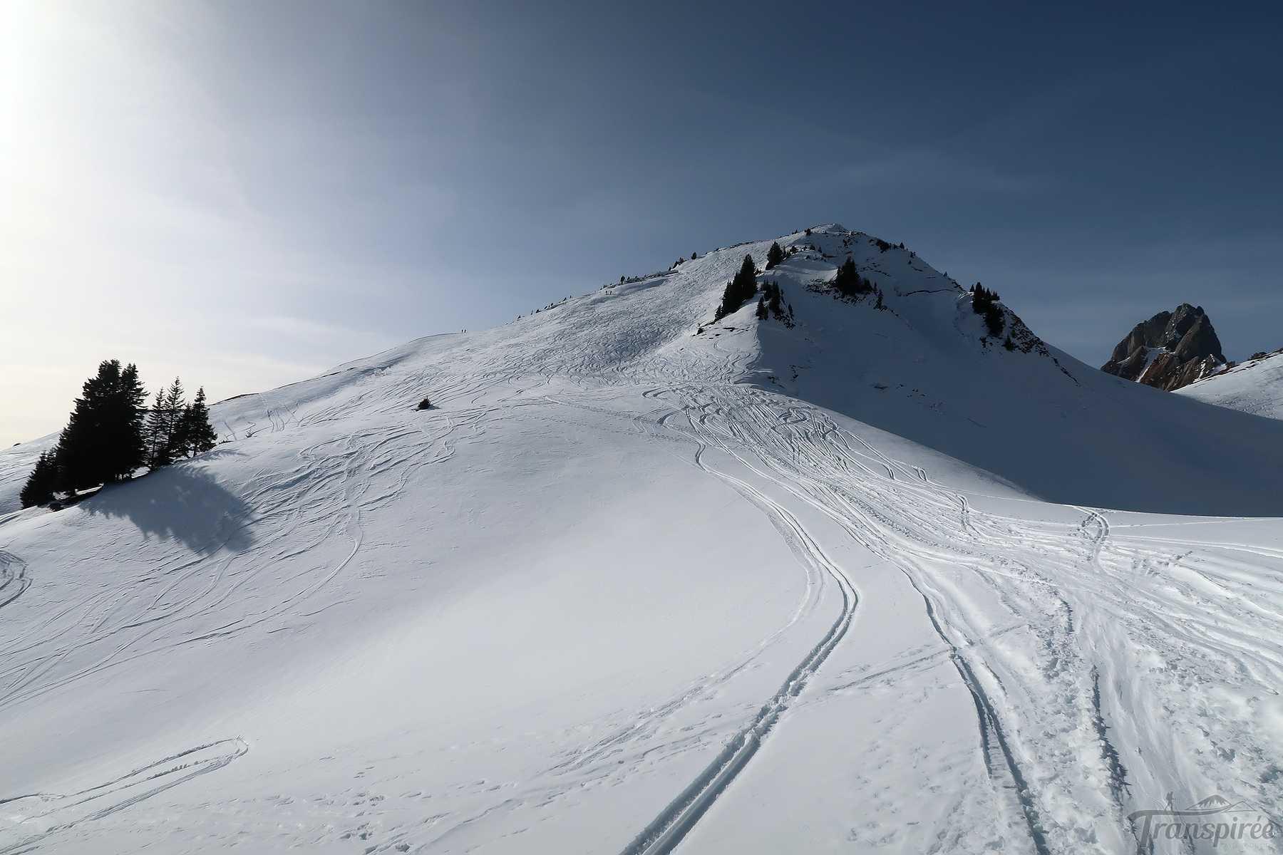 Ski de randonnée au Husegg depuis Jaun