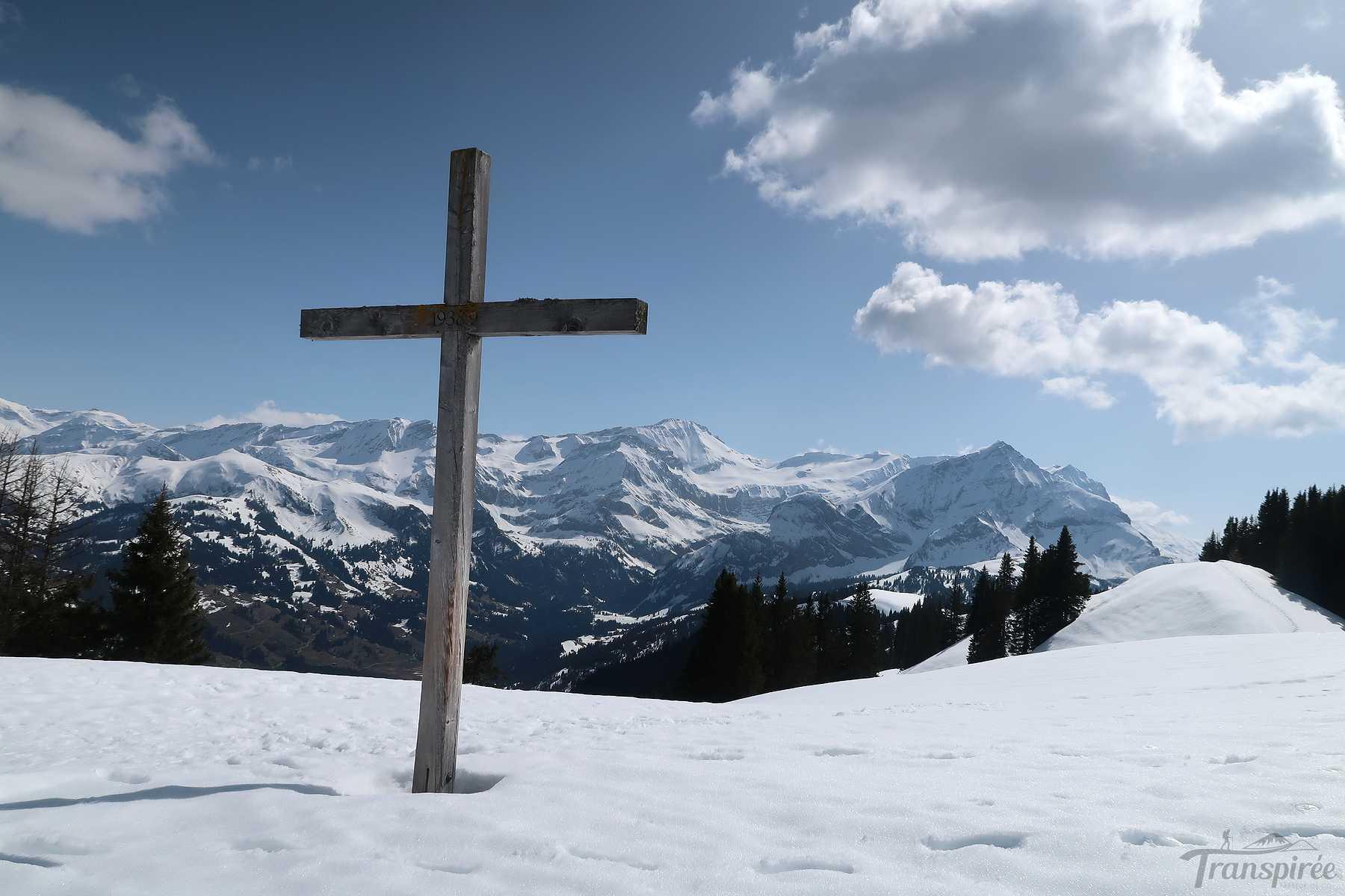 Ski de randonnée à Höhi Wispile depuis Gstaad