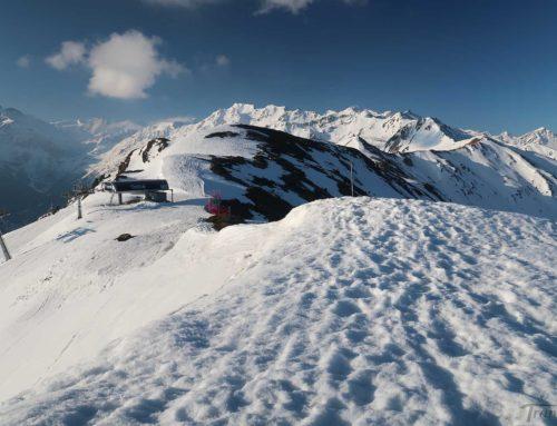 Ski de randonnée à Ethérolla depuis Les Collons (Thyon 2000)